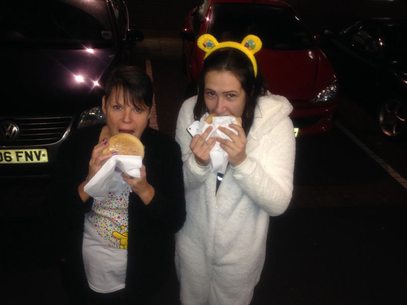 Burger Van Office Catering Children In Need