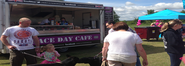 Race day cafe at race for life